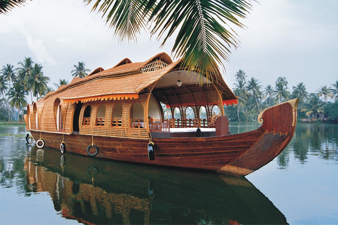 Alleppey Houseboat In Kerala