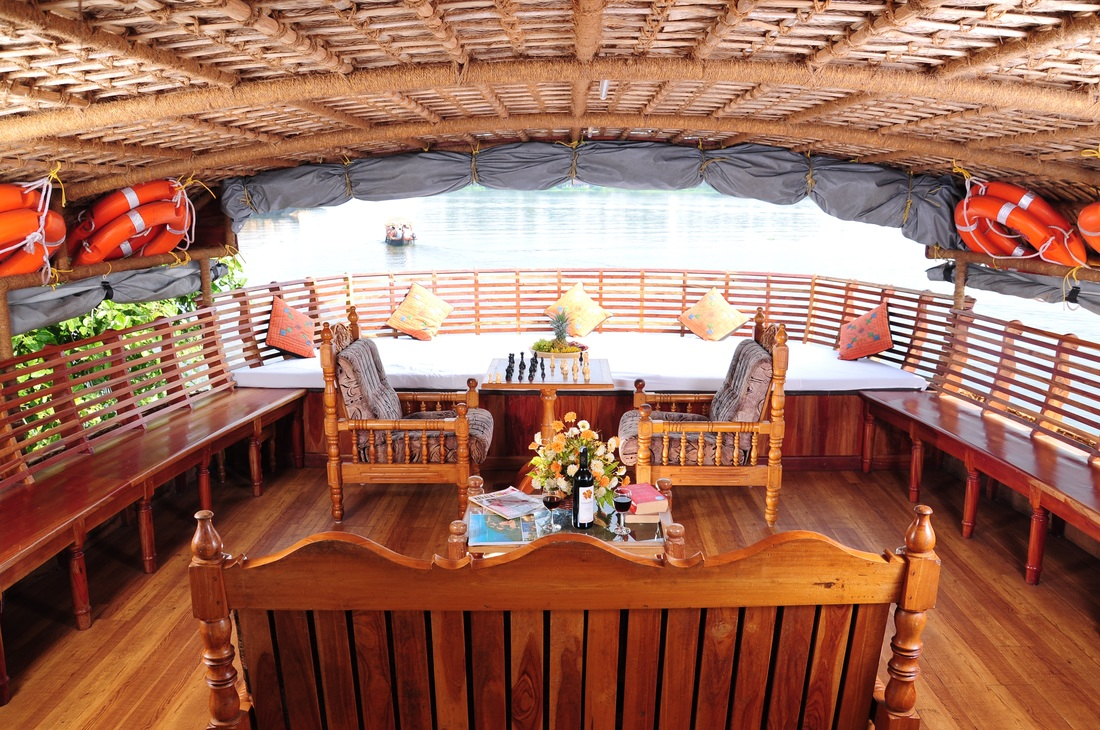 Interior view of houseboats